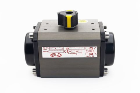 J + J Pneumatic Actuators Side AE Actuators