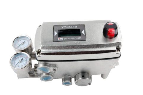 J+J Actuadores Pneumáticos Posicionadores YT-2550R lateral