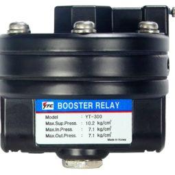 J+J Accesorios para Actuadores Pneumáticos Aumentador de presión YT-300 frontal