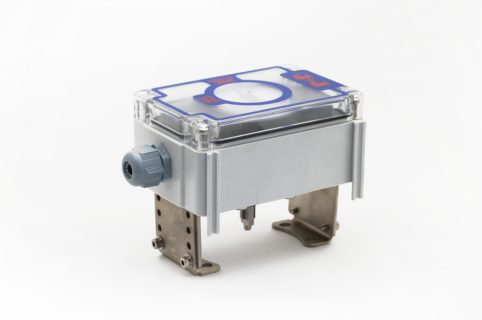 """J+J Pneumatic Actuators Pneumatic Actuators Signal Boxes Limit Switches Series CP """"Standard"""" Front End"""