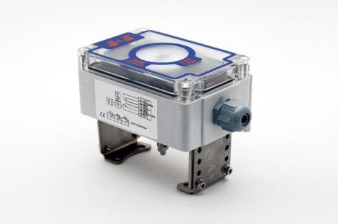 """J+J Pneumatic Actuators Pneumatic Actuators Signal Boxes Limit Switches Series CP """"standard"""" rear"""